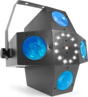 Multitrix LED med laser og strobe