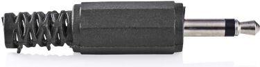 Nedis Monojackstik | 3,5 mm hanstik | 25 stk. | Sort, CAVC22980BK