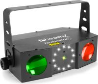 Terminator IV LED Double Moon with laser and strobe