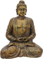 Europalms Buddha, antique-gold, 120cm