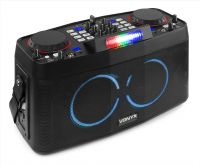 CDP800 Portable DJ Station with Dual Bluetooth