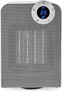 Nedis Wi-Fi Smart Fan Heater | Compact | Thermostat | Oscillation | 1800 W | White, WIFIFNH20CWT