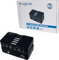 LogiLink USB 8 kanals 7.1 sound box