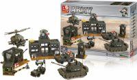 Sluban Byggeklodser Army Serie Hovedkvarter, M38-B7100