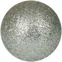 Christmas Decorations, Europalms Deco Ball 3,5cm, silver, glitter 48x