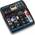 VMM-P500 4-Channel Music Mixer with DSP/USB and MP3/Bluetooth