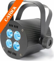 "LED PAR 4x 8W Quad Linkable DMX ""C-STOCK"""