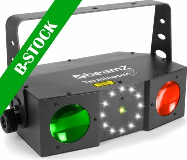 "Terminator IV LED Double Moon with laser and strobe ""B-STOCK"""