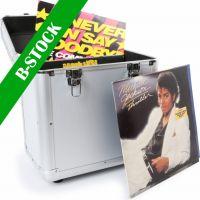 "RC80 12"" Vinyl Record Case Silver ""B-STOCK"""