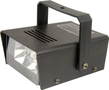Mini strobe, plastic case, 20W