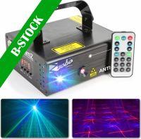 "Anthe II Double Laser 600mW RGB Gobo DMX IRC ""B-STOCK"""