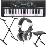 Yamaha EZ-220 inkl. Keyboard stativ, bænk og Hovedtelefon