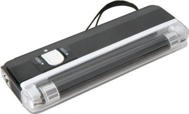 Blacklight UV lampe, sort