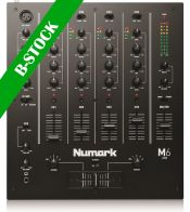"Numark M6 USB, 4-Channel USB DJ Mixer ""B-STOCK"""