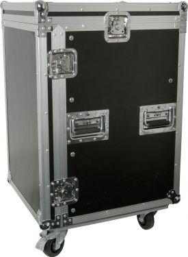 """Flightcase 16U + udskæring til 19"""" mixer"""