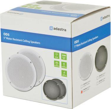 """OD5-W8 Water resistant speaker, 13cm (5""""), 80W max, 8 ohms, White"""
