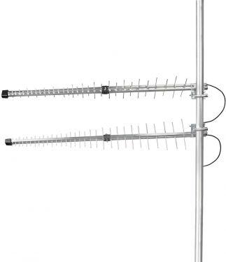 Nedis 3G/4G Udendørs Antenne   Maks. 15 dBi Forøgelse   698-960 MHz   1710-2700 MHz   Aluminium, ANO