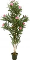Europalms Oleander tree, artificial plant, pink, 150 cm