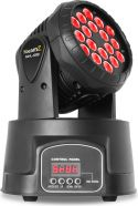 Moving Heads, MHL108MK3 Mini Moving Head 18x 3W 3-in-1 RGB LEDs