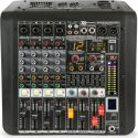 Power Mixers, PDM-M404A 4-Channel Music Mixer with Amplifier