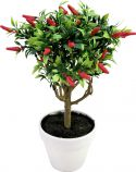 Udsmykning & Dekorationer, Europalms Chili high trunk, artificial plant
