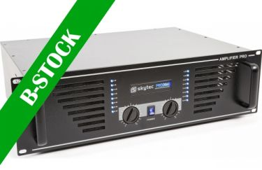 "PA Amplifier SKY-2000B, 2x1000 Watt Black ""B-STOCK"""