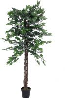 Europalms Ficus Tree Multi Trunk, artificial plant, 150cm