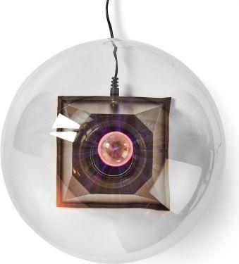 Nedis Plasmalyskugle | 10 W | 3500 lm | Glas | 20 cm, FUDI215BK