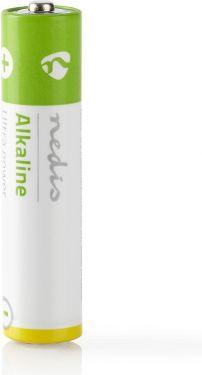 Nedis Alkaliske batterier AAA   1.5 V   2 deler   Krympepakning, BAAKLR032SP
