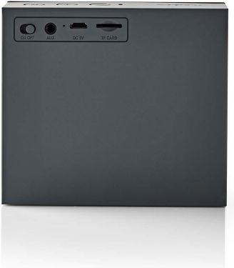 Nedis Bluetooth®-højttaler   9 W   Op til 6 timers spilletid   Grå, SPBT2000GY