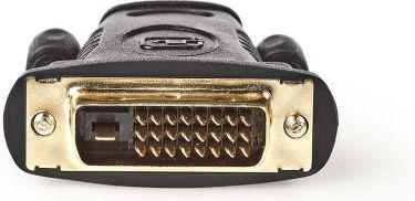 Nedis HDMI™ til DVI-adapter   DVI-D 24 + hanstik med +1 ben   HDMI-hunstik   Sort, CVGB34912BK