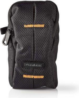 Nedis Kamerataske | 120 x 70 x 35 mm | 1 indvendig lomme | Sort/orange, CBAG110BK