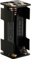 Batterier og tilbehør, Batteriholder til 4 x AAA bat. (m. loddeflige)