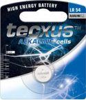 Batterier og tilbehør, Tecxus LR1130/AG10/V389 Alkaline knapcelle 1,5V 75mAh (1 stk.)