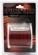 "Speaker Leads, <span class=""c10"">Velleman -</span> Højttalerledning 2 x 0,75mm² CU, rød/sort (25m)"