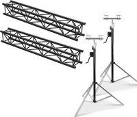 Beamz Truss Pakke sort 4 Meter - Pakkesæt