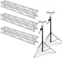 Beamz Truss Pakke Aluminium 6 Meter - Pakkesæt