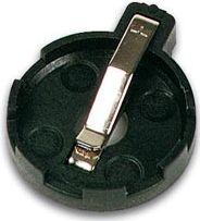 Batteriholder til knapcelle Ø20mm (CR2016/2025/2032)