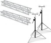 Beamz Truss Pakke Aluminium 4 Meter - Pakkesæt