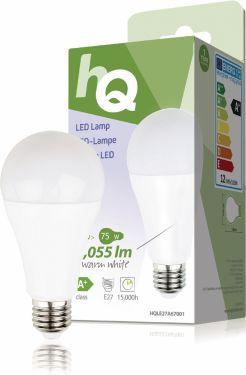 HQ LED Pære E27 A60 9.8 W 1055 lm 2700 K, HQLE27A67001