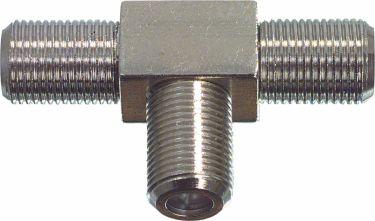 Valueline Coax Adapter XLR F Female - 2x F Female Silver, FC-030