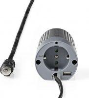 Nedis Power Inverter Modified Sine Wave   24 V DC - 230 V AC   100 W   1x Schuko / 1x USB Output, PI