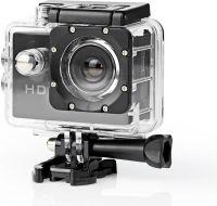 Nedis Action Cam | HD 720p | Waterproof Case, ACAM11BK