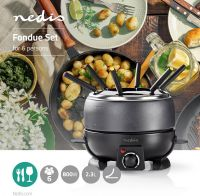 Nedis Fondue Set | 6-People | 2.3 L, FCFO110EBK6
