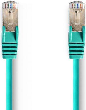 Nedis Cat 5e SF/UTP Network Cable   RJ45 Male - RJ45 Male   20 m   Green, CCGP85121GN200