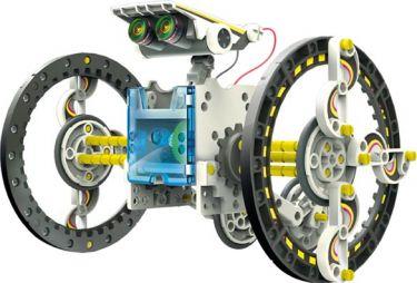 "<span class=""c9"">Velleman -</span> KSR13 14-i-1 solcelle robotkit"
