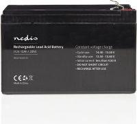 Nedis Rechargeable Lead-Acid Battery 12V   15000 mAh   151 x 98 x 95 mm, BALA1500012V