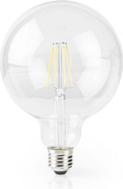 Nedis Wi-Fi Smart LED-pære | E27 | 125 mm | 5 W | 500 lm, WIFILF10WTG125