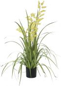 Udsmykning & Dekorationer, Europalms Bellflower, artificial flower, yellow, 105cm
