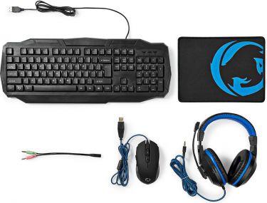 3 Colors BluePurpleRed Backlight Professional Gaming